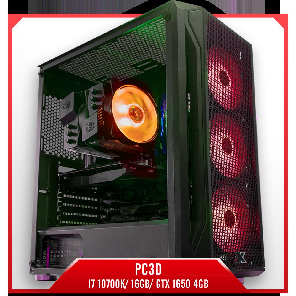 Cấu hình 7:PC3D I7 10700K/ 16GB/ GTX 1650 4GB, pc đồ họa giá rẻ, pc đồ họa chuyên nghiệp